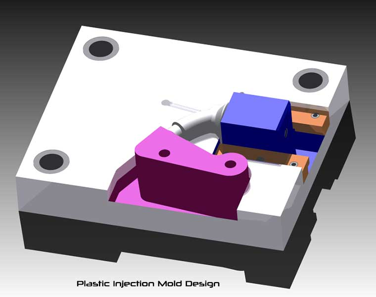 Potato Suction Cup - Plastic Injection Mold Design Rendering from Autodesk Inventor